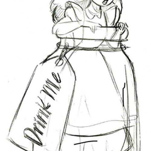 Original Line Drawing