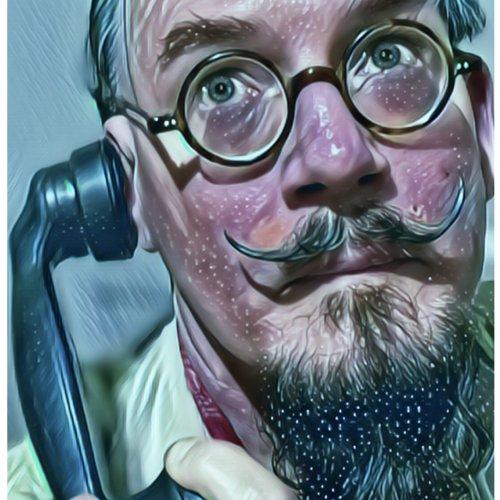 Lord Härringtón photograph of Corona Virus Doktor calling Legion for back-up.